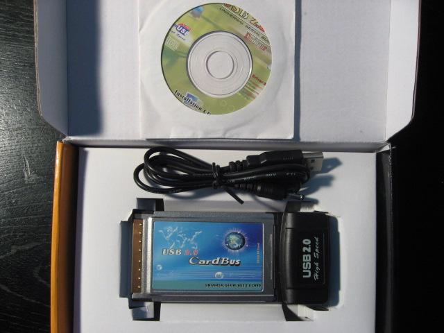 USB2.0カード パッケージ開梱