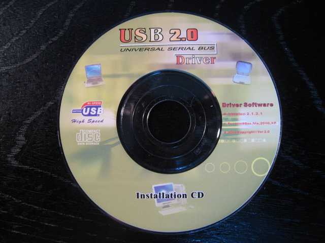 USB2.0カード driver CD