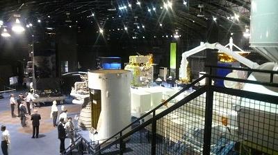 JAXA展示室内